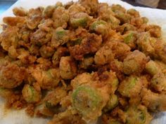 Only From Scratch: Easy Fried Okra with a 'Kick'