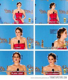 Jennifer Lawrence is great haha
