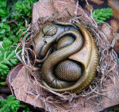 Newborn baby dragon. $26.00, via Etsy.