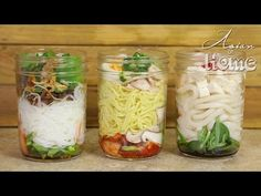 DIY Ramen Cup ideas, will store for 4-5 days in the fridge