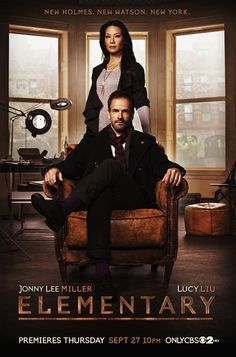 Elementary... Can I just say that I love this show?  I know everyone compares it to BBC, but to be honest, I love the idea of a female Watson, and there's no way Moffat could handle this female lead.