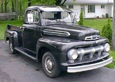 1951 F1  My dad's truck was a '54 and it looked a lot like this.