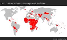 #List of #countries poorer than #Bill #Gates