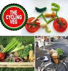 Cycling Veg: London's first organic & local fruit & veg box delivered by bike