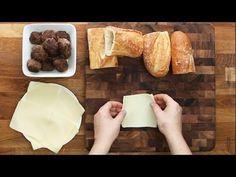 Meatball-Stuffed Garlic Bread