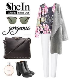 """Autumn Casual Outfit"" by tresmastan on Polyvore featuring moda, ESCADA, Acne Studios, Ray-Ban y Valentino"