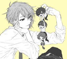 Anime Chibi, Kawaii Anime, Shugo Chara, Bungou Stray Dogs, Vocaloid, Art Pictures, Anime Guys, Manhwa, Character Inspiration
