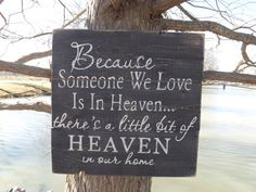Rustic reclaimed barn wood sign Because someone by JMSouthernSigns, $35.00