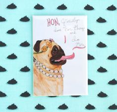 Funny Pug Fridge Magnet, Quirky Gifts, Gifts for Dog Lovers, Gifts for Friends, Dog Lover Gift, Pug Gifts Dog Refrigerator Fridge Magnets by ChickenpantsStudio