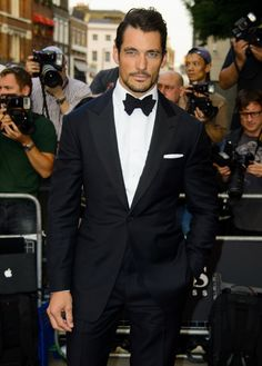 Cele|bitchy | David Gandy at GQ Man of the Year Awards 2013