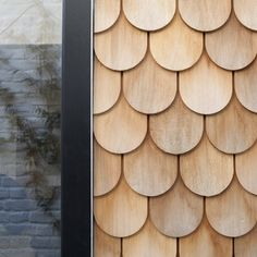 Wood Shingles on the Gingerbread House by Laura Dewe Mathews Timber Cladding, Exterior Cladding, Cladding Design, Wall Cladding, Hotel Belle Ile, Cedar Shingles, Box Houses, Facade Architecture, Architecture Interiors