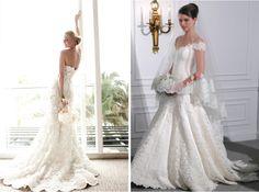10 Tendencias de vestidos para novias 2012 Vol. 1 - LaCelebracion.com