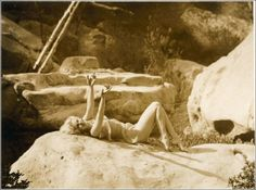 Jean Harlow photographed in Griffith Park by Edwin Bower Hesser, 1929