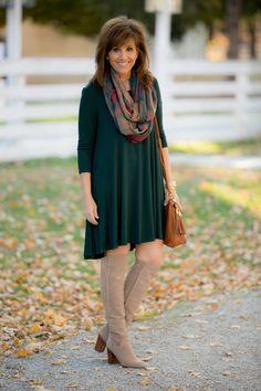 CASUAL HOLIDAY DRESS-WINTER FASHION