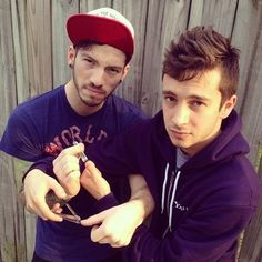 Twenty One Pilots- I'm sure you're wondering... If this is them... What is their fanbase like.... Here to tell... You should just keep wondering...
