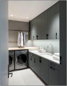 100 Fabulous Laundry Room Decor Ideas You Can Copy decor fa &; 100 Fabulous Laundry Room Decor Id&; 100 Fabulous Laundry Room Decor Ideas You Can Copy decor fa &; 100 Fabulous Laundry Room Decor Id&; Pantry Laundry Room, Laundry Room Layouts, Laundry Room Cabinets, Laundry Room Bathroom, Laundry Room Organization, Basement Laundry, Diy Cabinets, Bath Room, Bathroom Flooring
