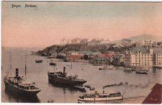 Bergen - Nordnæs. Årstal og fotograf ukjent