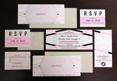 Dana & Hartley Wedding Invitation