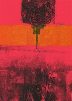 """8"" - Monotipo Movie Posters, Painting, Art, Printmaking, Art Background, Film Poster, Popcorn Posters, Painting Art, Kunst"
