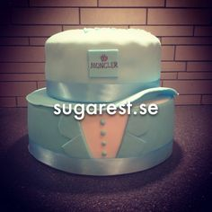 Fun Gentleman's Hat and Suit's fondant birthday cakkkkkkkkkkkkke!