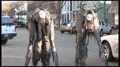 4 legged stilts costume - with some behind the scenes of how they made it - THIS FOR YGRAMUL, this must happen!!!