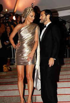 Designer Date Night: Our Favorite Designer-Muse Duos Of Met Galas Past: Kate Moss And Marc Jacobs, 2009
