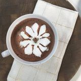 Marshmallow Blooming Flower Hot Chocolate - These seem too thick.  Spread thinner on more than one tray.