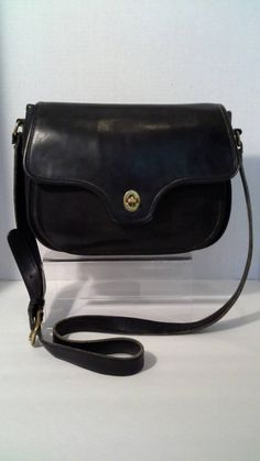 708504581d23 Coach Lenox bag Black Crossbody Made in the United States Rare by  BeebleWeezy on Etsy Vintage