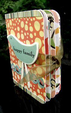 Artfull Crafts: Lowri - Mini Album Tutorial