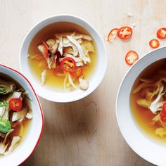 Maybe you're coming down with a cold, or you hit one too many holiday parties. This comforting but complex-tasting soup is just what the doctor ordered.