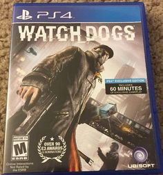 Watch Dogs Watchdogs (PlayStation 4 PS4, 2014)