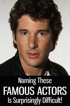 Only 1 in 14 Can Pass This Famous Actors Quiz! Star Trek Posters, 80 Tv Shows, Celebrity Updates, Richard Gere, Old Hollywood Stars, Classic Movie Stars, Celebs, Celebrities, Celebrity Hairstyles