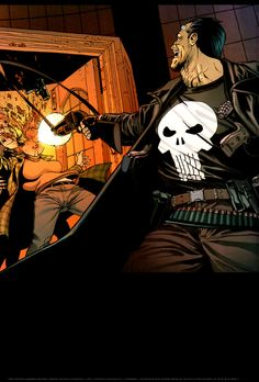 Punisher by Leandro Fernandez Punisher Marvel, Marvel Comics, Marvel Universe, Movies To Watch, Castle, Darth Vader, Fan Art, Superhero, Gun