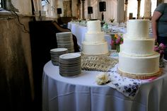 My first wedding cake project, New Orleans, LA 2012. Vanilla Buttcream and Dark Chocolate Cake.
