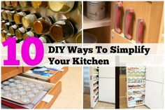 10 DIY Projects To Simplify Your Kitchen