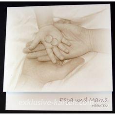 Außergewöhnlich Hochzeitskarten Mama Und Papa Heiraten | Mama U0026 Papa, 1,60 U20ac
