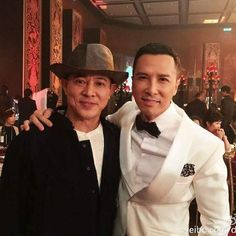 Jet Li with Donnie Yen - martial arts films network https://instagram.com/p/45ZiFTF22j/