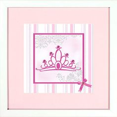Disney Princess Crown I Wall Decor