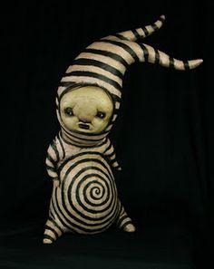 It's Halloween already! Art Painting Gallery, Art Gallery, Creepy Stuffed Animals, Art Jouet, Arte Cyberpunk, Arte Horror, Creepy Dolls, Creepy Cute, Weird Art