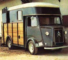 Citroen H van horsebox.