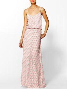 Hive & Honey Chevron Stripe Knit Maxi Dress | Piperlime