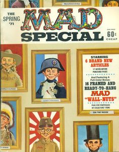 MAD Magazine The Spring 1971 Special Edition $7.99 plus $5.00 shipping Frank's.