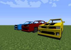 Cars and Vehicles Mod 1.6.4 - http://www.minecraftjunky.com/cars-and-vehicles-mod-1-6-4/