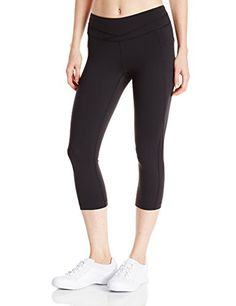 Lucy Womens Hatha Capri Legging Lucy Black Small ** You can get more details by clicking on the image.