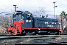 RailPictures.Net Photo: SP 1196 Southern Pacific Railroad EMD SW900 at Roseville, California by Craig Walker