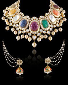 Based in Mumbai, Bridelan is a boutique bridal styling company that offers personal shopping, fashion styling and luxury consultancy services for South Asian and Indian weddings. India Jewelry, Temple Jewellery, Hazoorilal Jewellers, Diamond Jewelry, Gold Jewelry, Schmuck Design, Wedding Jewelry, Jewelry Collection, Necklace Set