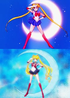 Sailor Moon (1992) // Sailor Moon Crystal (2014)