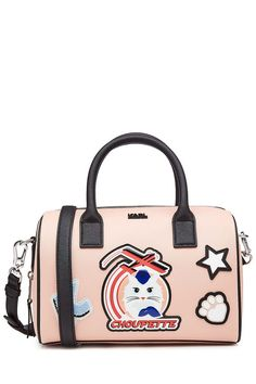 Choupette Printed Tote   Karl Lagerfeld