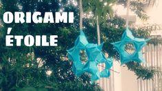Origami Décoration - Comment faire une ÉTOILE en Papier