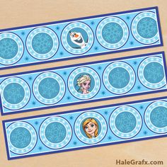 frozen water bottle labels FREE Printable Frozen Water Bottle Labels